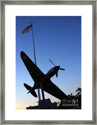 To Ww II Flyers Framed Print