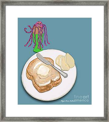 Toast And Jelly Framed Print by Megan Dirsa-DuBois