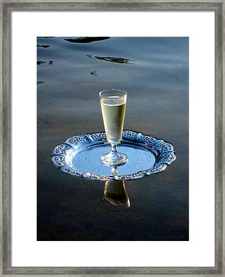 Framed Print featuring the photograph Toast To Life by Leena Pekkalainen