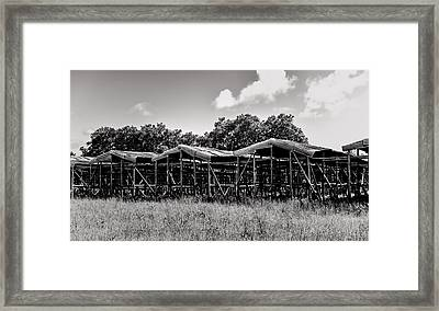 Tobacco House Framed Print