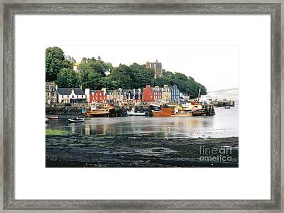 Tobermory Harbour Framed Print by Mark Bowden