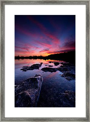 Tobermory Sunset 2 Framed Print by Cale Best