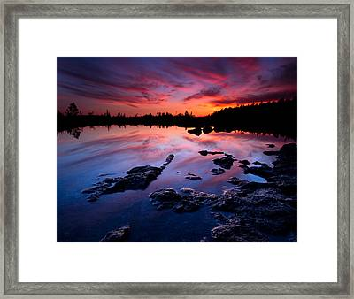 Tobermory Sunset Framed Print