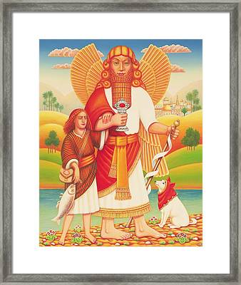 Tobias And The Angel, 2009 Framed Print