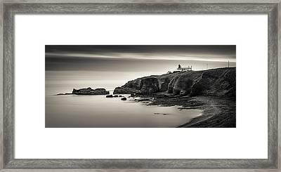 Tod Head Lighthouse Framed Print by Dave Bowman