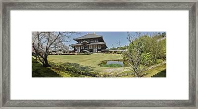 Todai-ji Temple, Nara, Nara Prefecture Framed Print