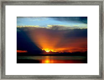 Today Is Forever Lost Tomorrow Framed Print by Karen Wiles