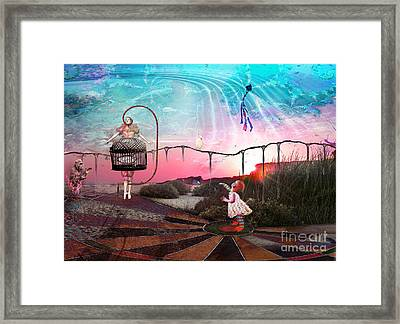 Today Is The Greatest Day Framed Print by Rhonda Strickland