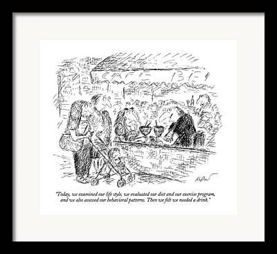 Behavioral Framed Prints