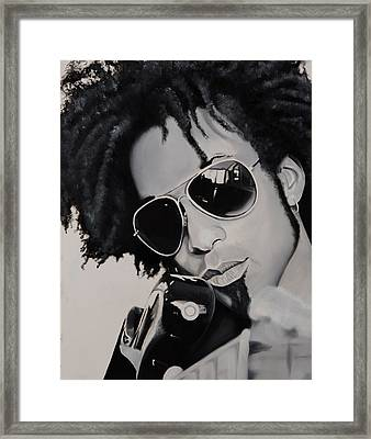 Toddiefunk Framed Print by Brian Broadway