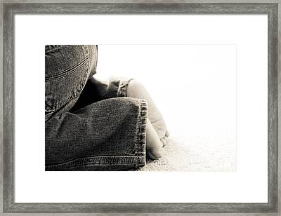 Toddler Life Framed Print by Jessica Brown