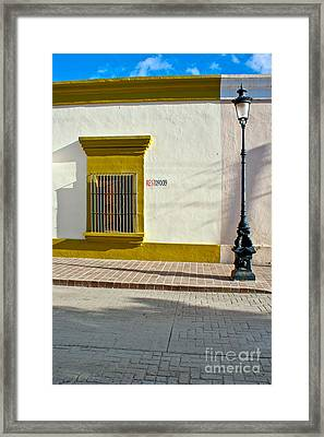 Todos Alley Framed Print by Ryan Burton