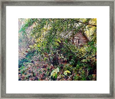 Tod's Shack Framed Print