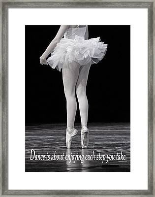 Toes Framed Print by Thomas Fouch