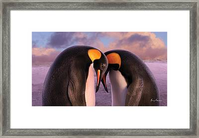 Together Framed Print by Gary Hanna