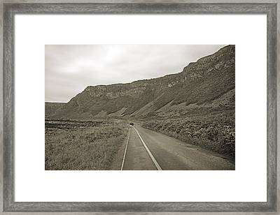 Together -- Giant's Causeway  Framed Print