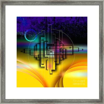 Together In The Sky Framed Print by Franziskus Pfleghart