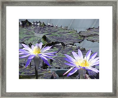 Together Is Beauty Framed Print by Chrisann Ellis
