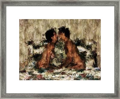 Together Framed Print by Kurt Van Wagner