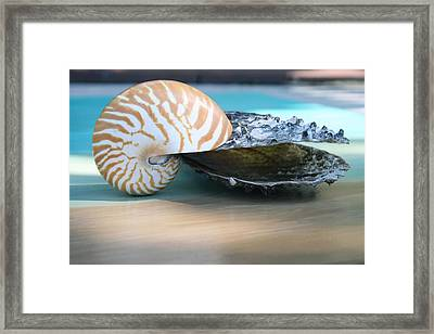 Together Framed Print by Paulette Maffucci