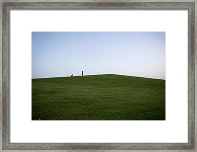 Together Through Life Framed Print by Charlie Tash