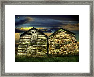 Together Until The End Framed Print by Thomas Young