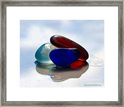 Together We Are Strong Framed Print by Barbara McMahon