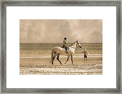 Together We Go Framed Print