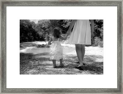 Together We Go Framed Print by Paulette Maffucci