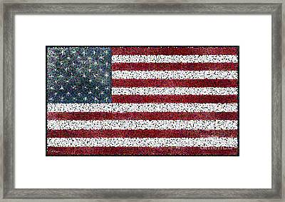 Together We Make Our Country Awesome. Framed Print