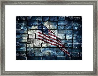 Together We Stand Framed Print by Aaron Berg