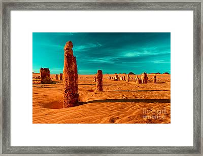 Together We Stand Framed Print by Julian Cook