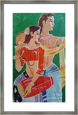 Togetherness Framed Print by Chintaman Rudra