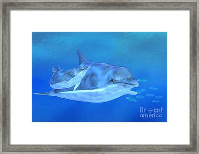 Togetherness Framed Print