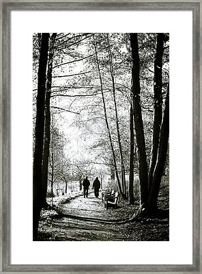 Togetherness Framed Print