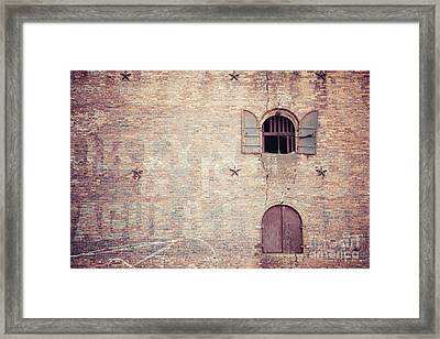 Toggle Framed Print