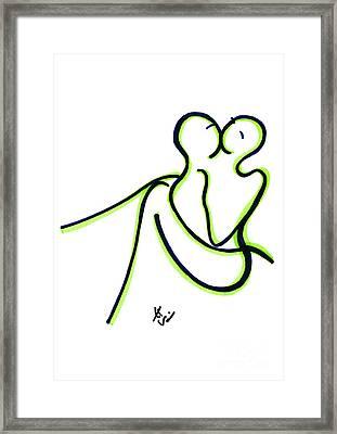 Toi Et Moi Framed Print