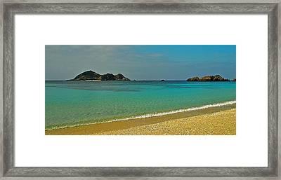 Aharen Beach, Tokashiki-jima, Okinawa Framed Print