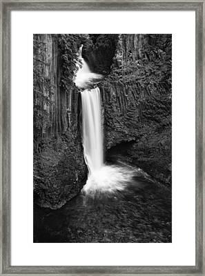 Toketee Falls Framed Print by Andrew Soundarajan
