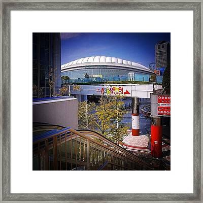 #tokyo ( #東京 ) #dome #city ( Framed Print