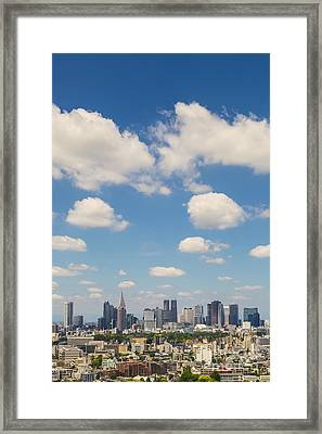 Tokyo 31 Framed Print by Tom Uhlenberg