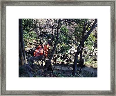 Tokyo Bridge Framed Print by Michael Fitzpatrick