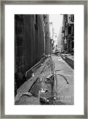 Tokyo Unicycle Framed Print