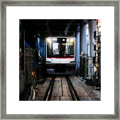 #tokyu #toyoko Line - #tokyo #yokohama Framed Print