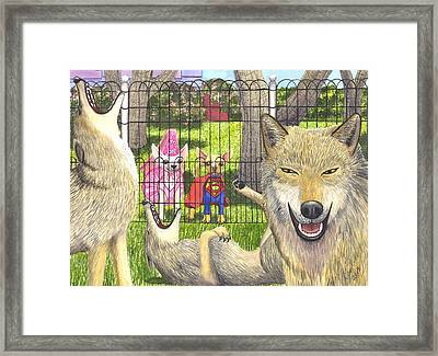 Told You Framed Print by Catherine G McElroy