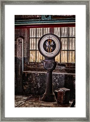 Toledo No Springs Scale Framed Print by Susan Candelario