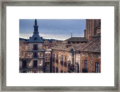 Toledo Rooftops II Framed Print