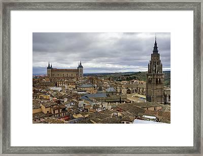 Toledo View Framed Print