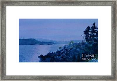 Tolkien Grey Havens   West Vancouver Whytecliff Park Wide Format Framed Print by Glen McDonald