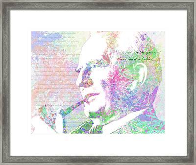 Tolkien Framed Print by Michael Lee
